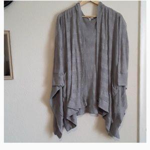 American Eagle Long Sleeve Oversized Hood Cardigan